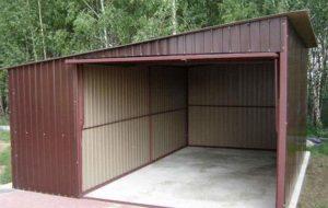 каркасного гаража