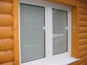 Пластиковые окна в баню