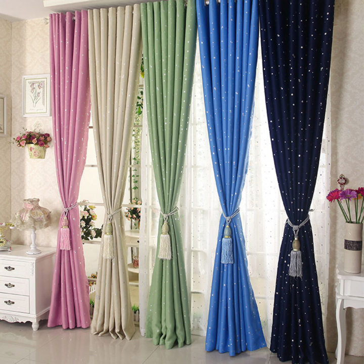 Colored curtains (2)