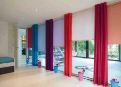 Цветные шторы — Лучшие новинки с красивым дизайном (82 фото)