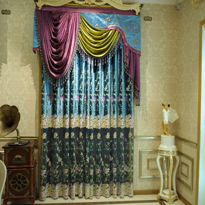 Drapery curtains (3)