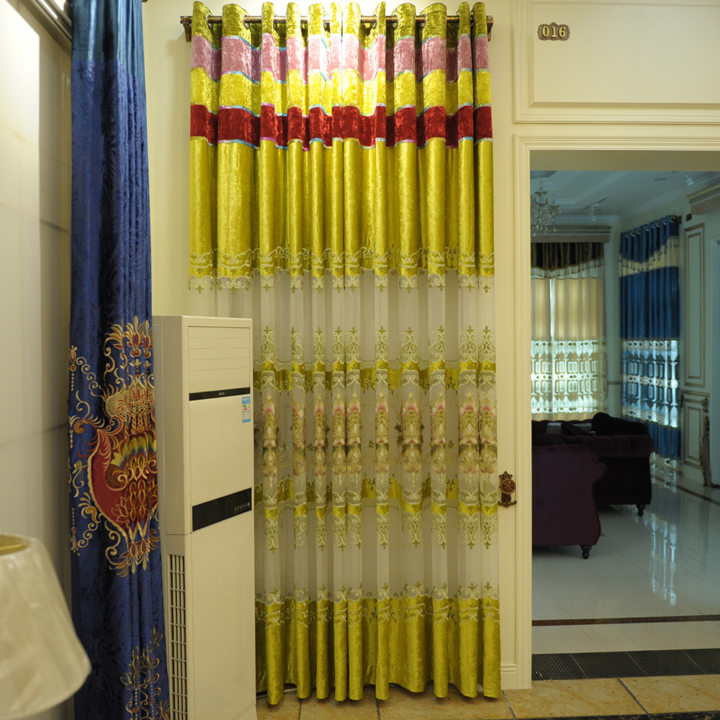 Drapery curtains (7)