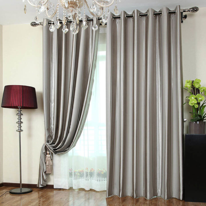 Satin curtains (15)