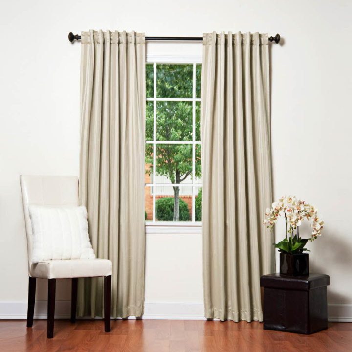 Satin curtains (17)