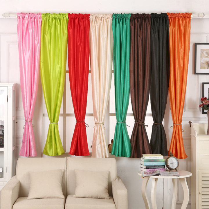 Satin curtains (6)