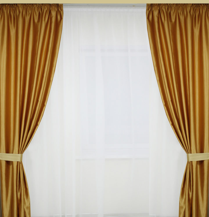 Satin curtains (8)