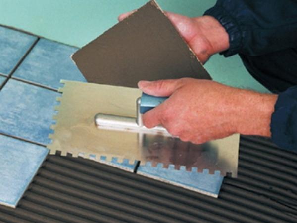 Клей для плитки технология укладки