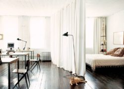 Зонирование шторами — Лучшие способы профессионалов (86 фото)
