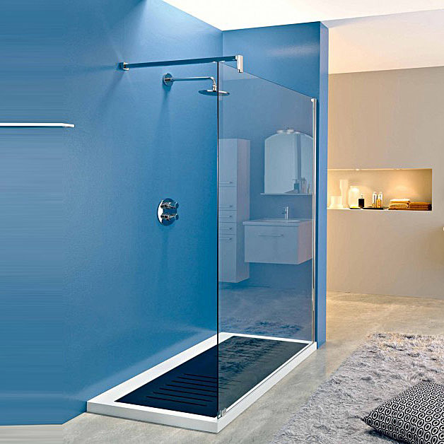 Bathroom shower doors