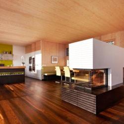 Деревянные загородные дома из CLT панелей