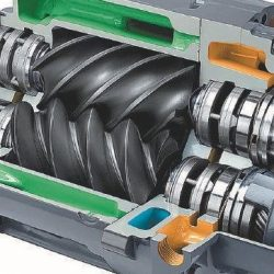 Винтовые компрессоры. Особенности использования