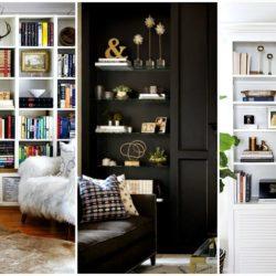 3 способа обновить книжный шкаф