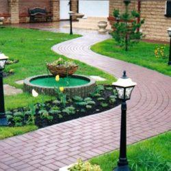 Проектирование дорожек на садовом участке