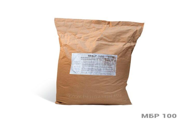 МБР – битумно резиновая мастика