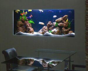 Большой аквариум на заказ