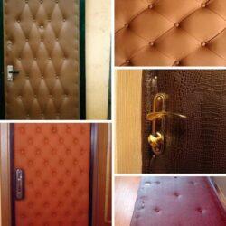 Обивка металлических дверей своими руками: подробная инструкция, необходимые материалы и советы